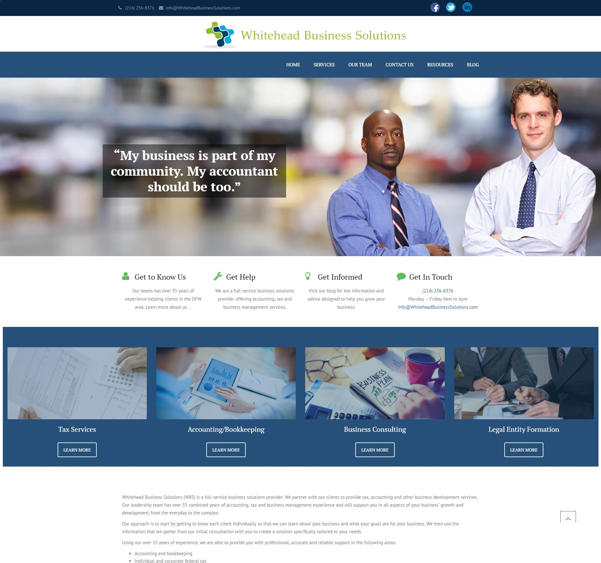Whitehead Business Solutions